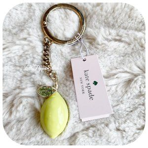 KATE SPADE LEMON ZEST KEY FOB IN MULTI